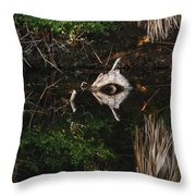Cyclops In Reflection Throw Pillow