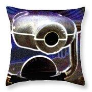 Cyclops Viewer Throw Pillow