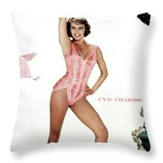 Cyd Charisse Throw Pillow