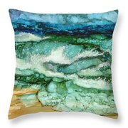 Cymopoleia Throw Pillow