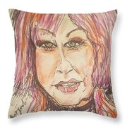 Cyndi Lauper Throw Pillow