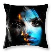 Cynthia Joy Of Life Throw Pillow