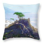 Cypress At Carmel Throw Pillow