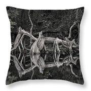 Cypress Design Throw Pillow