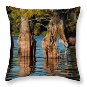 Cypress Grove One Throw Pillow