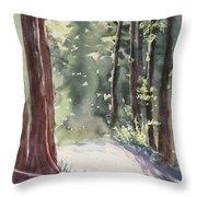 Cypress Mt. Throw Pillow