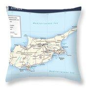 Cyprus 2 Throw Pillow