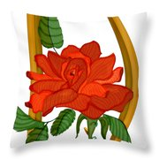 D Is For Dreams Throw Pillow