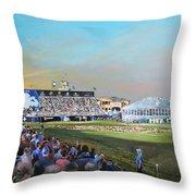 D P World Tour Championship 2013 Throw Pillow