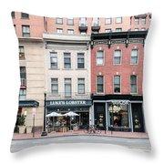 D St Washigton  Throw Pillow