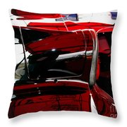 D Type Abstract Throw Pillow