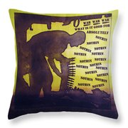 D U Rounds Project, Print 15 Throw Pillow