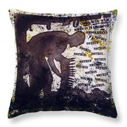 D U Rounds Project, Print 29 Throw Pillow