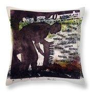D U Rounds Project, Print 5 Throw Pillow