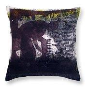 D U Rounds Project, Print 6 Throw Pillow