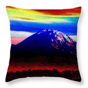 Da Mountain Throw Pillow