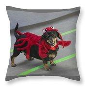 Dachshund Lobster Throw Pillow