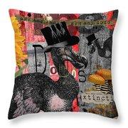 Dada Dodos Throw Pillow