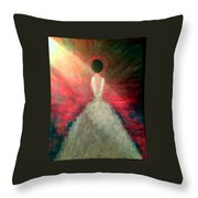 Daddy's Little Girl Throw Pillow