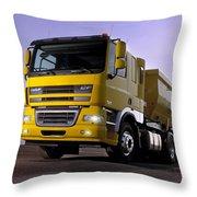 DAF Throw Pillow