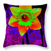 Daffodil 2 Throw Pillow