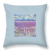 Daffodil Days Throw Pillow