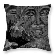 Daffodil Sun And Moon 2 Throw Pillow