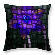 Daffodil Weave 2 Throw Pillow