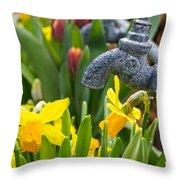 Daffodils 1 Throw Pillow