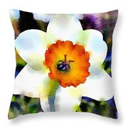 Daffy Down Dilly Throw Pillow