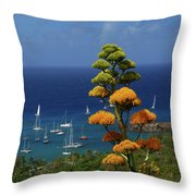 Daggers Los Throw Pillow