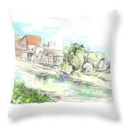 Dagomys Throw Pillow