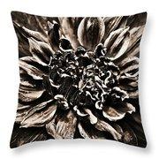 Dahlia De Pierre Throw Pillow