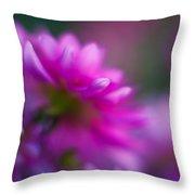 Dahlia Menagerie Throw Pillow