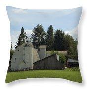 Dahmen Barn Historical Throw Pillow