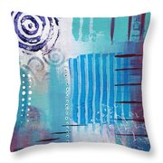 Daily Abstract Four Throw Pillow