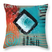 Daily Abstract Week 2, #5 Throw Pillow