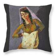 Daily Bread Throw Pillow