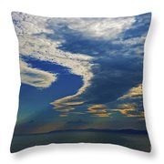 Daily Gratitude... Throw Pillow