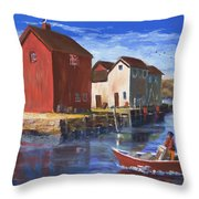 Daily Harvest Throw Pillow