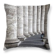 Daily News Throw Pillow
