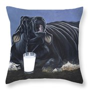 Dairy Is A Mother's Tears Throw Pillow