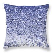 Daisies In Blue Throw Pillow