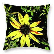 Daisy Bell Throw Pillow
