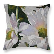 Daisy Bunch Throw Pillow
