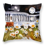 Daisy Desoto Throw Pillow