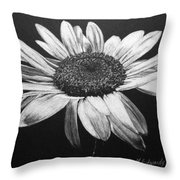 Daisy I Throw Pillow