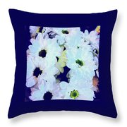 Daisy Laughs Throw Pillow