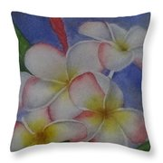 Daisy Wilcox Throw Pillow