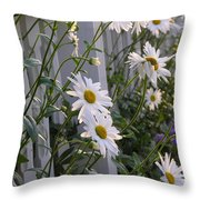 Daisy's Escaping Throw Pillow